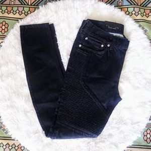 NWT 31X32 Pacsun stacked skinny moto jeans